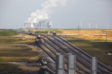 Lignite Industry And Power Station