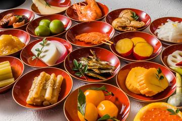 おせち懐石 Traditional Japanese meal brought in courses