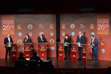 California Gubernatorial Candidtates Town Hall  POOL PHOTOS