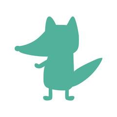 fox silhouette icon