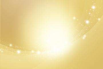円、ボケ、丸、金色と黄色の背景