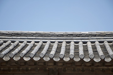 Korean traditional roof tile