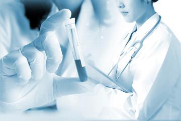 医療イメージ 血液検査