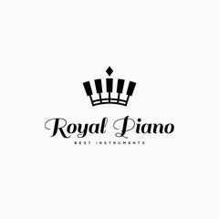 Royal piano logo