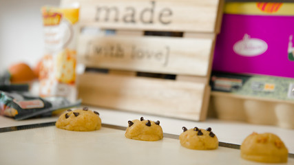 Cookies en préparation