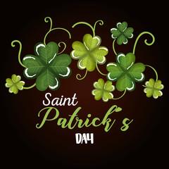 happy saint patricks day celebration