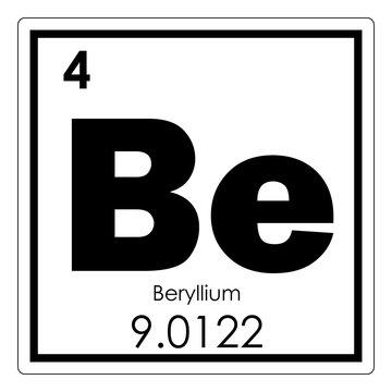 Beryllium chemical element