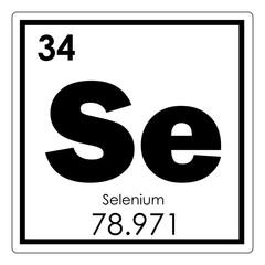 Selenium chemical element