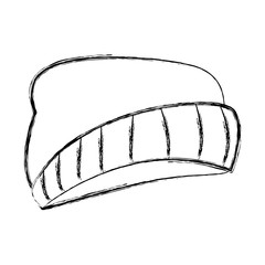 Fashion beanie hat icon vector illustration graphic design