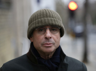 French businessman Alexandre Djouhri arrives at Notting Hill Police Station, in London