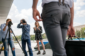 backstage photography outdoor photoshoot hobby lifestyle reportage concept