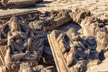 Wooden Carvings, Mul Chowk, Patan Durbar Square, Lalitpur, Nepal