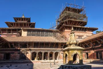 Mul Chowk, Patan Durbar Square, Lalitpur, Nepal