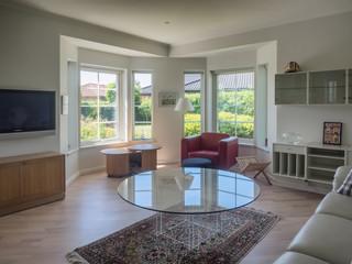 Interior from a Scandinavian home, living room