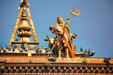 Shiva Statue, Durbar Square, Kathmandu, Nepal