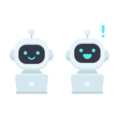 Cute cartoon chat bot