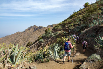 Wandern im Norden La Gomeras (bei Hermigua)