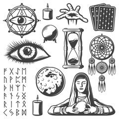 Vintage Mystic Elements Set