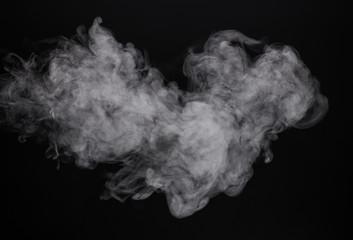 Image white mist of e-cigarette