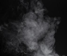 Image isolated smoke of e-cigarette
