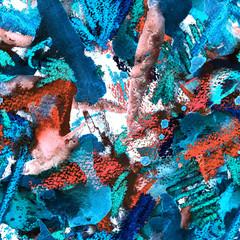 Creative watercolor pattern.