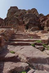 Stairs in Petra, Jordan