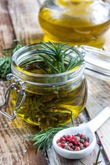 Olive oil rosemary flavored