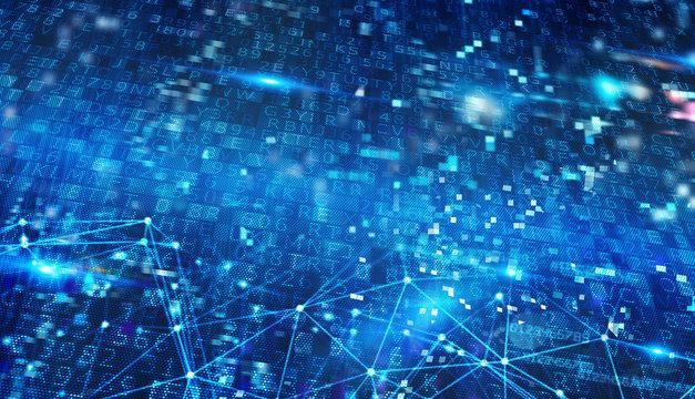 Internet network background. Concept of internet sharing
