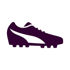 running shoe for soccer players icon