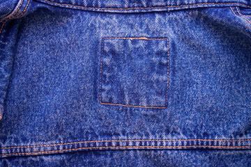 Indigo blue jeans texture for textile