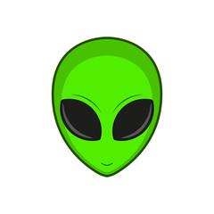Alien. Vector illustration.