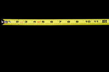 measuring tape one foot
