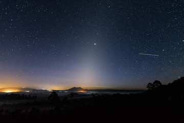 Zodiacal light.