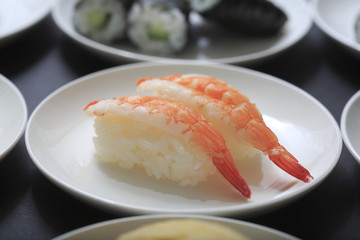 Sushi image of Steamed shrimp