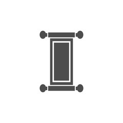 Picture of the Scroll icon. Elements of Chinese culture icon. Premium quality graphic design icon. Baby Signs, outline symbols collection icon for websites, web design, mobile app
