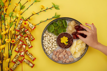 Healthy snacks for Lunar Year