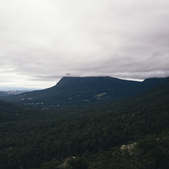 On top of Mount Roland in Tasmania during the day.