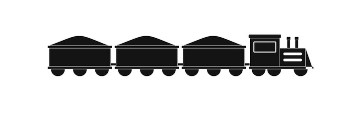 VIP train icon. Simple illustration of VIP train vector icon for web.