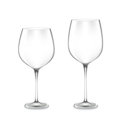 empty Wine Glasses
