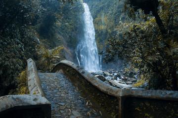 silawe waterfall, Magelang Indonesia