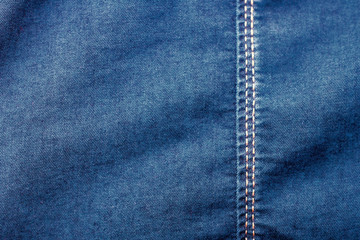 the background is denim blue rough texture of the fabric