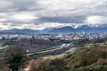 Entrada de Oviedo