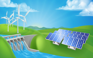 Renewable Energy or Power Generation Methods