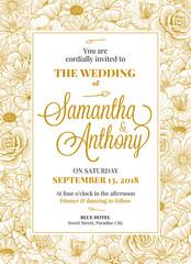 Wedding Invitation Design