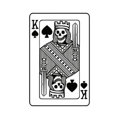 King of spades graphic