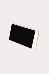 White isolated smart phone