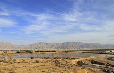 algae factory on the outskirts of Eilat