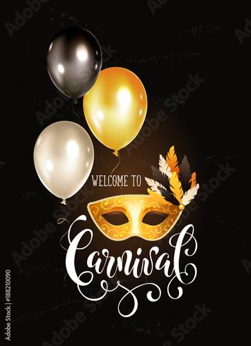 festive masqeurade party invitation template bright carnival