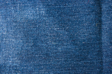 Blue faded jeans texture