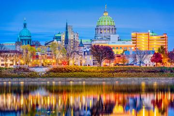 Fototapete - Harrisburg, Pennsylvania, USA